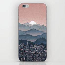 Seek - Sunset Mountains iPhone Skin