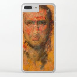 Androgyny Clear iPhone Case