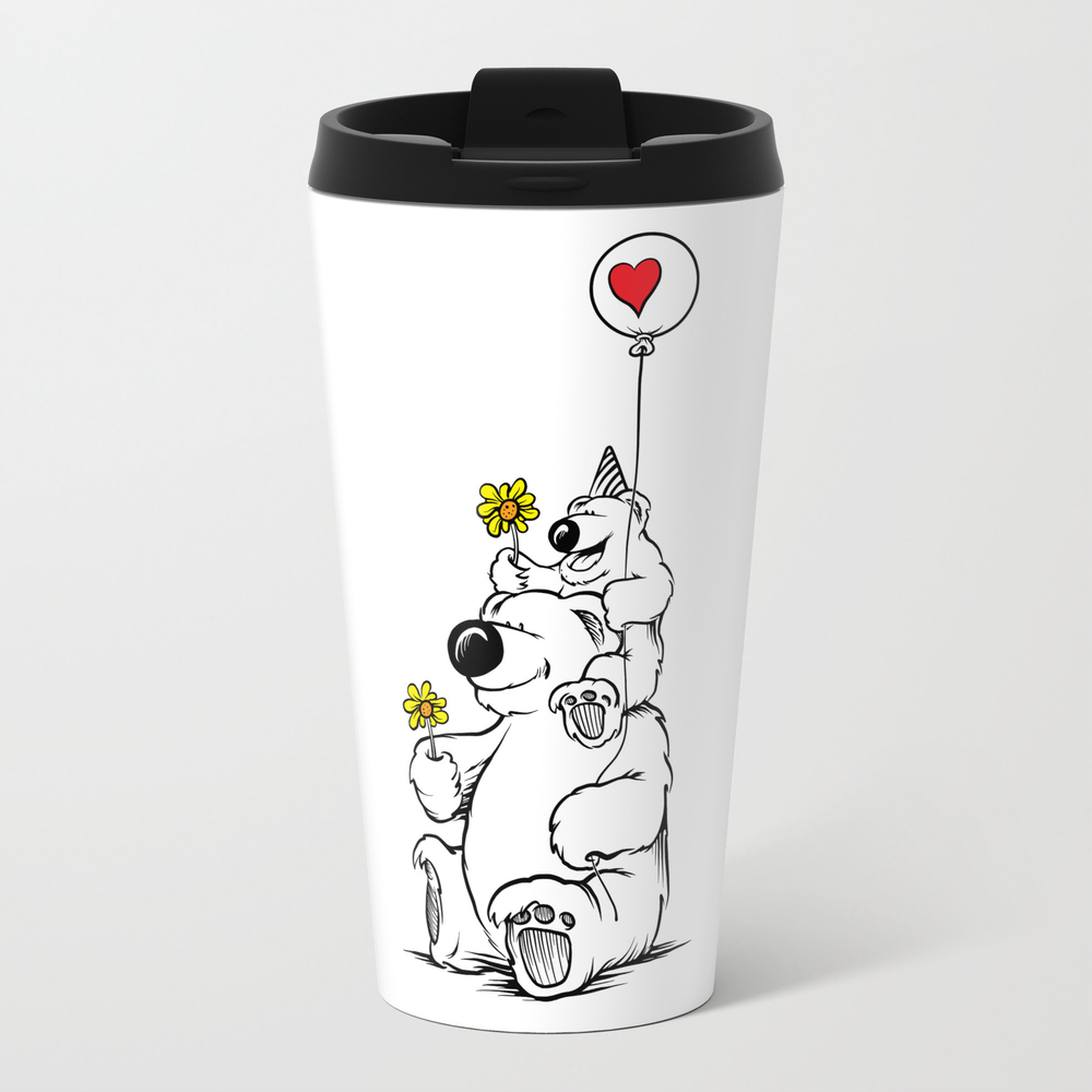 Papa Bear & Baby Bear Travel Cup TRM954136