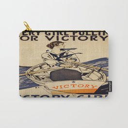 Vintage poster - Victory Girls Carry-All Pouch