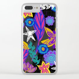 The Insomniac Garden Clear iPhone Case