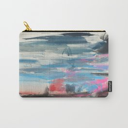 Sunset and a Thunderstorm Carry-All Pouch