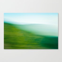 Mountains and Sea Canvas Print