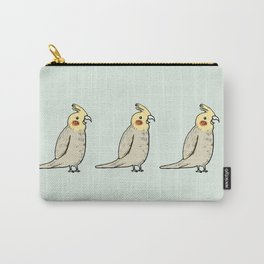Happy Cockatiel Carry-All Pouch