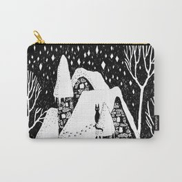 Snow House Carry-All Pouch