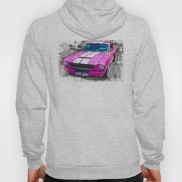 Pink Mustang  Hoody