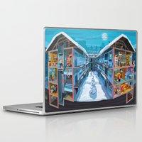 budapest Laptop & iPad Skins featuring Budapest Bang by Zsolt Vidak