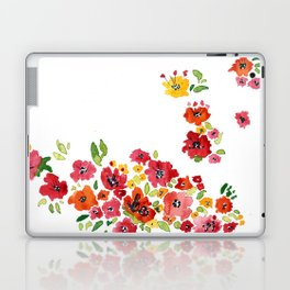 the daily creative project: romantic flowers Laptop & iPad Skin
