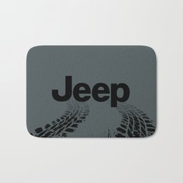 Jeep 'Tire-tracks' Rubicon Bath Mat