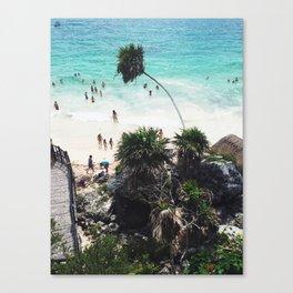 Playa Paraiso Canvas Print