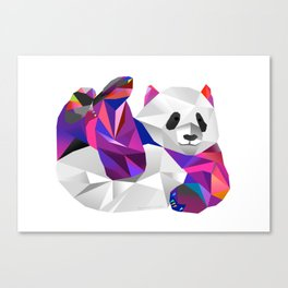 Pauline Panda  Canvas Print