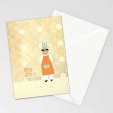 A wise old tip Stationery Cards