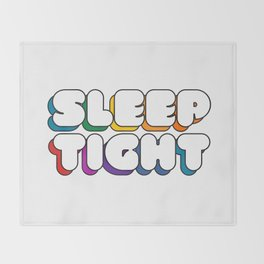 Sleep Tight Throw Blanket