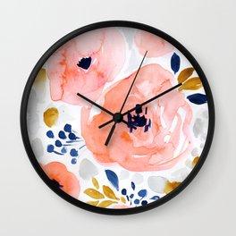 Abstract Wall Clocks Society6