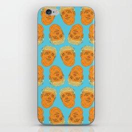 PigFaced Trump Pattern iPhone Skin
