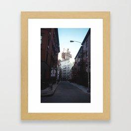 Gay Street, West Village Framed Art Print
