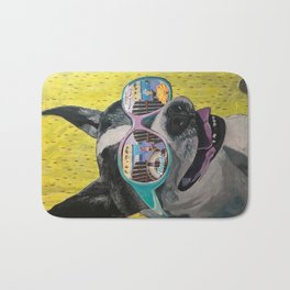 Frosty Face Friday with Gracie Gabriella at the Beach Bath Mat