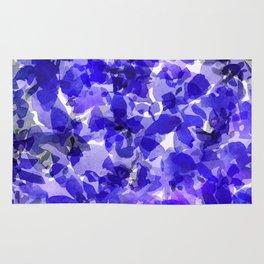Royal Blue Delphiniums Rug