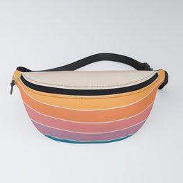 Boca Spring Stripes Fanny Pack