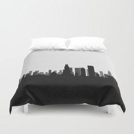 City Skylines: Chicago Duvet Cover