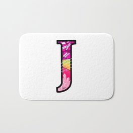 initial J Bath Mat