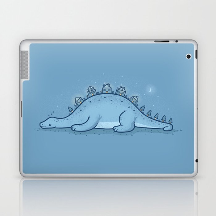 Homes on the hill Laptop & iPad Skin