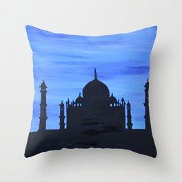 Taj Mahal Throw Pillow