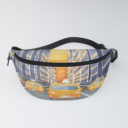 NYC, yellow cabs Fanny Pack