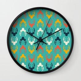 Deer sea Wall Clock