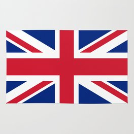 Union Jack, Authentic color and scale 1:2 Rug
