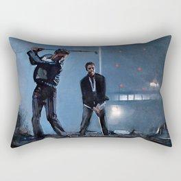Tyler Durden and the Narrator - Golfing Buddies - Fight Rectangular Pillow