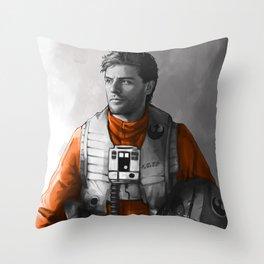 Poe Dameron Throw Pillow