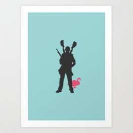 Good Luck Nicholas Art Print
