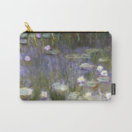 "Claude Monet ""Water lilies""(2) Carry-All Pouch"