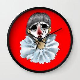 Pierrot Wall Clock