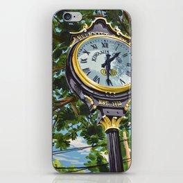 Ellicott City Flood Relief- Clock iPhone Skin