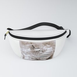 Yin Yang softness and vintage Fanny Pack