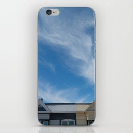feather clouds iPhone Skin