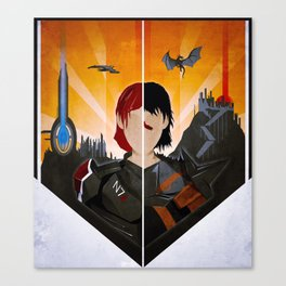 The Shepard & The Hawke Canvas Print