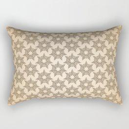 GRAPHIC PATTERN Sparkling stars | gold Rectangular Pillow