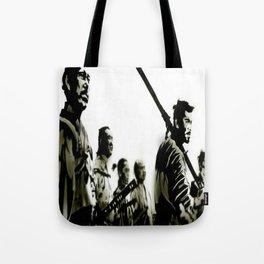 Samurai Brothers Tote Bag
