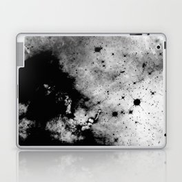 War - Abstract Black And White Laptop & iPad Skin