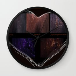 Getting There (Focusing On the Emotion) Wall Clock