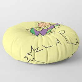 A summer's day Floor Pillow