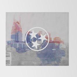 Nashville, Tennessee Throw Blanket