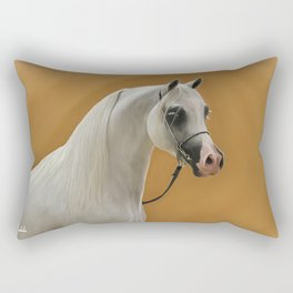 Digital Painting of an arabian horse Rectangular Pillow