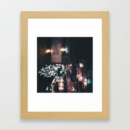 Montserrat Lights Framed Art Print