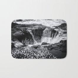 Thor's Well, No. 3 bw Bath Mat