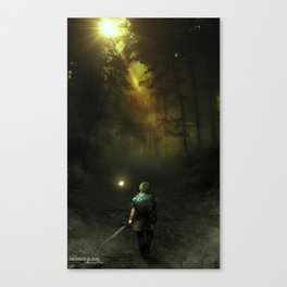 Minuet of Forest - Variant Canvas Print