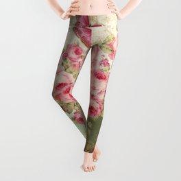 Tea Flowers #4 Leggings